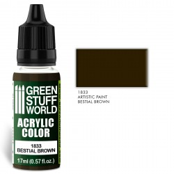 Acrylic Color BESTIAL BROWN