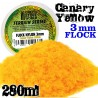 Cesped Electrostatico 3 mm - AMARILLO CANARIO - 280 ml