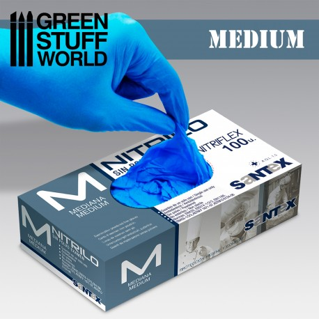 Nitrile Gloves - Medium