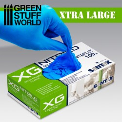 Nitrile Gloves - Extra Large