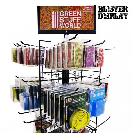 GSW Paint Display Rack