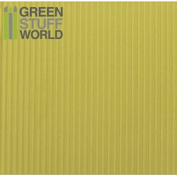 ABS Plasticard - CORRUGATED 1.5mm Textured Sheet