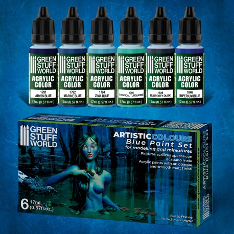 Paint Set - Green