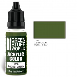 Acrylic Color ROCKET GREEN