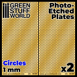 Photo-etched Plates - Medium Circles