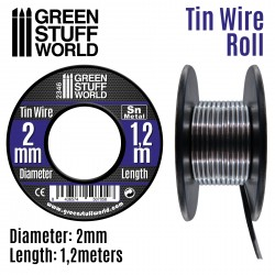 Flexible tin wire roll 2mm