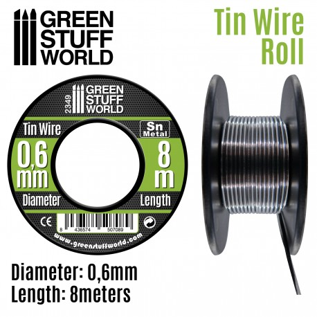Flexible tin wire roll 0.6mm