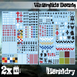 Waterslide Decals - Heraldry