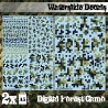 Waterslide Decals - Digital Forest Camo