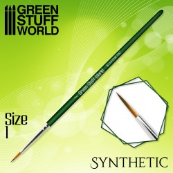 GREEN SERIES Synthetic Brush - Size 1