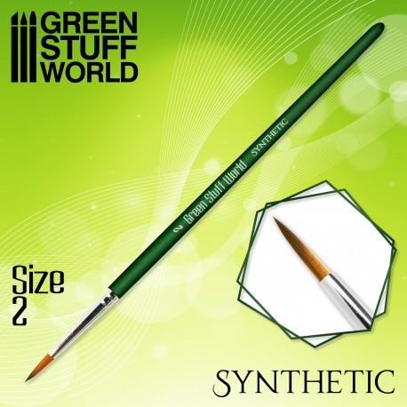 GREEN SERIES Synthetische Haarpinsel - 1