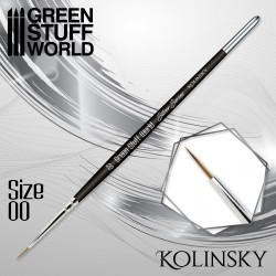 SILVER SERIES Kolinsky Brush - Size 00