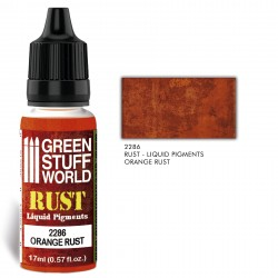 Pigments Liquides ORANGE RUST