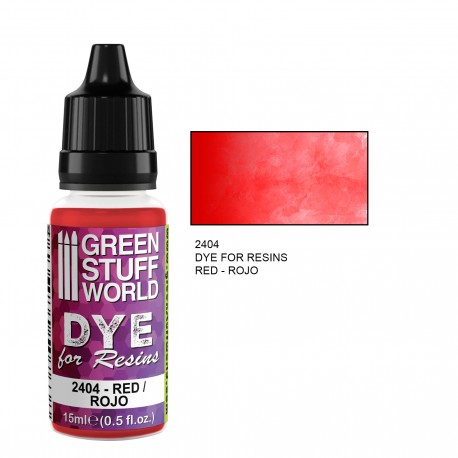 Dye for Resins RED