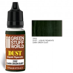 Pigments Liquides DARK GREEN DUST