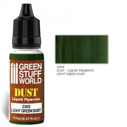 Pigments Liquides LIGHT GREEN DUST