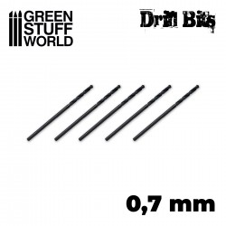 Drill bit in 0.7 mm