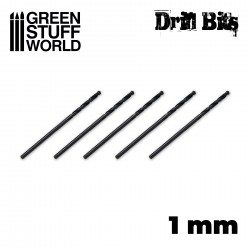 Drill bit in 1 mm