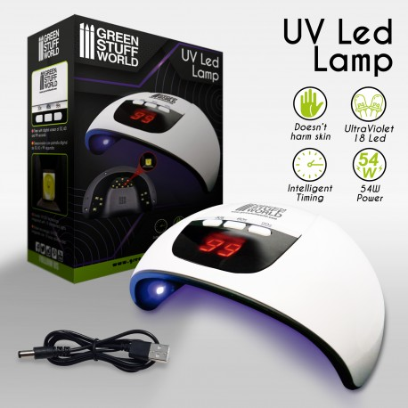 Lampara LED Ultravioleta