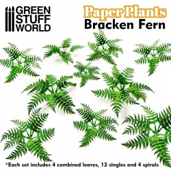 Paper Plants - Bracken Fern