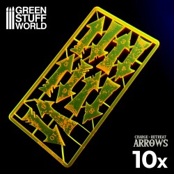 Charge and Retreat Arrows - Fluor Orange