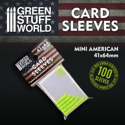 Fundas para Cartas - Mini Americano 41x64mm