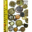 SteamPunk CLOCKS and Watches Beads 85gr
