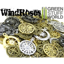 SteamPunk COMPASS WINDROSE Beads 85gr