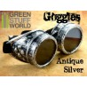SteamPunk GOGGLES - Antique Silver