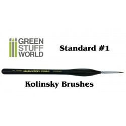 Brushes Standard Detail 1 Natural Kolinsky