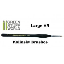Brushes Large 3 Natural Kolinsky