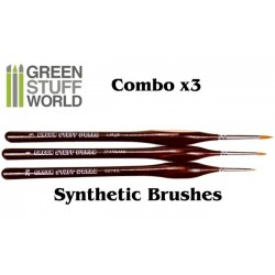 Brushes COMBOx3 Synthetic