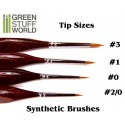 Brushes COMBOx5 Synthetic