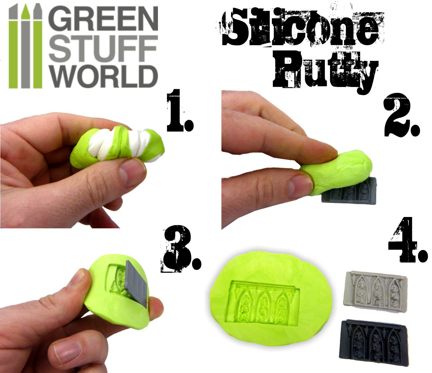 silicone-putty