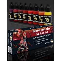 Paint Set - BLOOD and FIRE