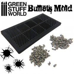 Rubber molds - BULLETS