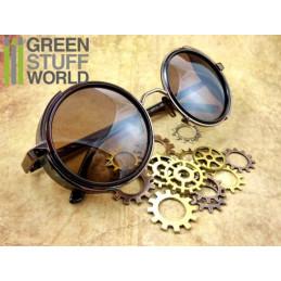 Retro SteamPunk goggles - COOPER frame