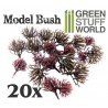 20x Arbustes Modelisme Flexibles