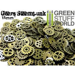Steampunk-ZAHNRÄDER 85 gr *** 15 mm
