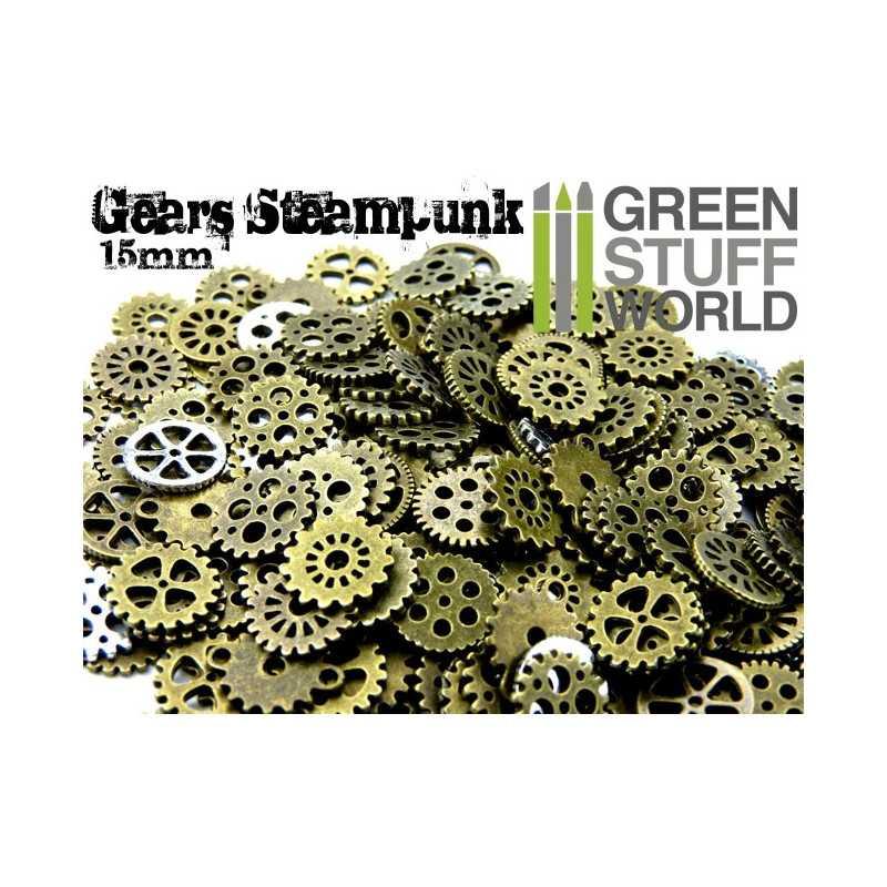Set SteamPunk RUEDAS 85 gr. *** 15 mm
