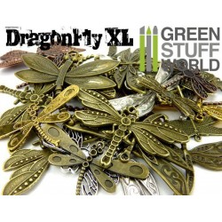 SteamPunk Big DRAGONFLY-XL Beads 85gr
