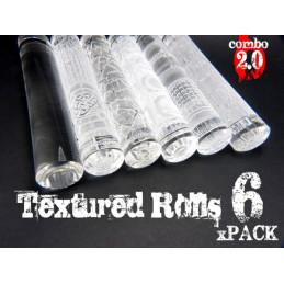 Rouleaux texturés - PACKx6 v2.0