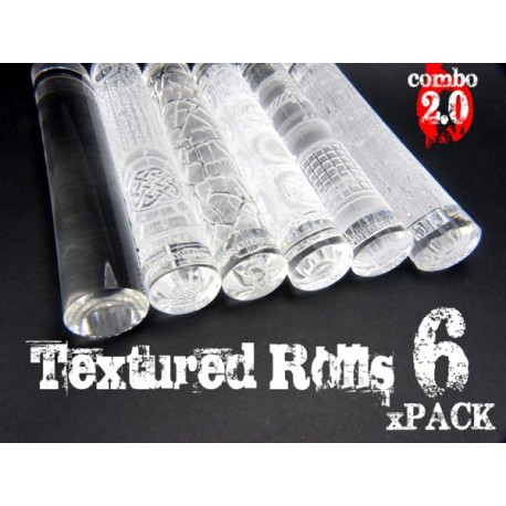Rolling Pin - Textured Rolls - PACKx6 v2.0