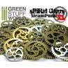 SteamPunk SPIRAL GEARS & COGS Beads 85gr XL size