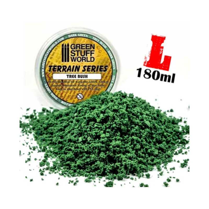 Flocage mousse - Vert Fonce - 180ml - L