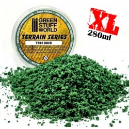 Flocage mousse - Vert Fonce - 280ml - XL