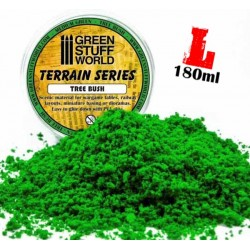 Tree Bush Clump Foliage - Medium Green - 180 ml