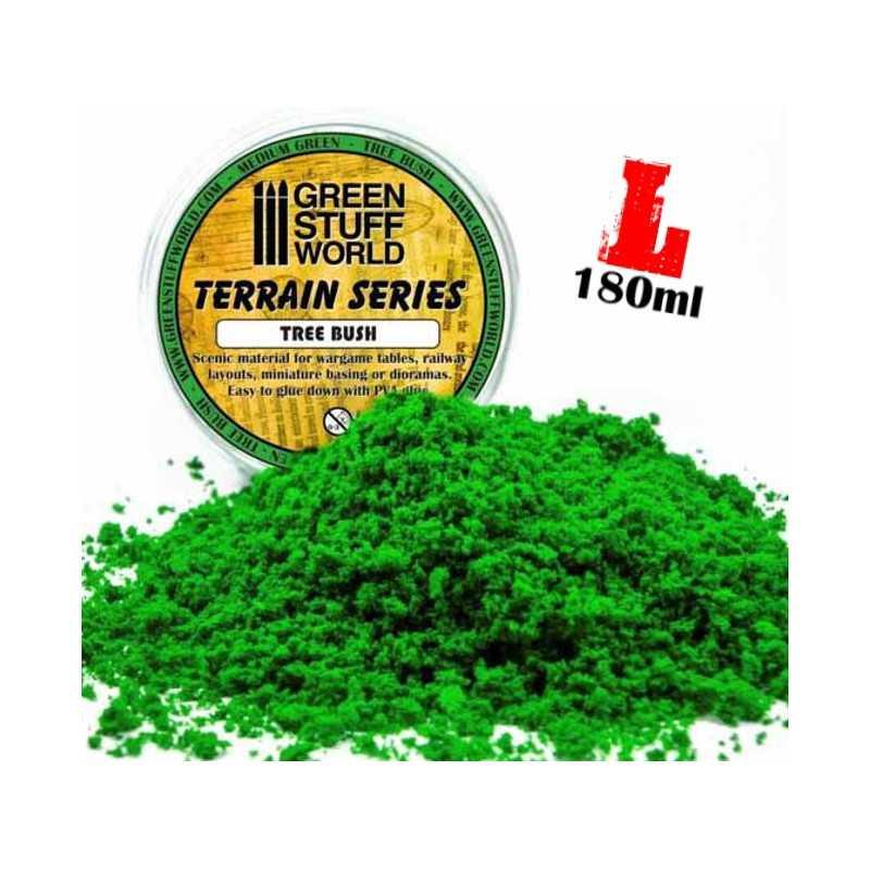 Flocage mousse - Vert Moyen - 180ml - L