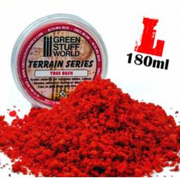 Flocage mousse - Automnal Rouge - 180ml - L