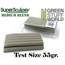 Super Sculpey Medium Blend 55 gr. - FORMATO TEST